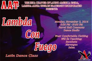 Lambda Con Fuego Dance Lesson